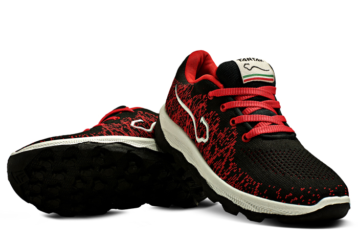 tantak shoes Razhan Black Red
