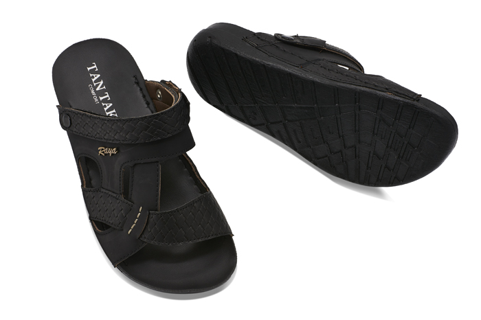 tantak shoes sandal kamal black
